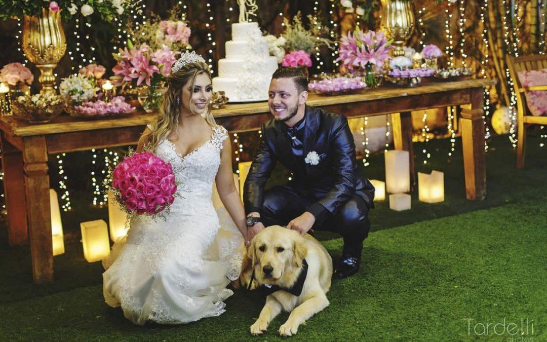 O grande dia de Larissa & Emerson: um casamento clássico e romântico no Buffet Cedrom.