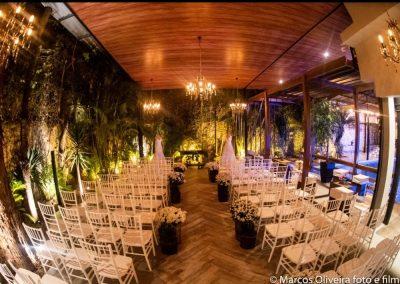 espaço para casamento com área para cerimonia